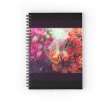 I Miss You Roses Spiral Notebook