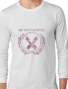 DFTBA Hipster Flower design Long Sleeve T-Shirt