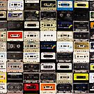 cassette tape wall in australia by johnnabrynn