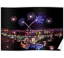Cincinnati, Fireworks Poster
