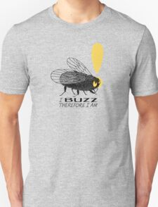 Thinker fly, I buzz therefore I am T-Shirt
