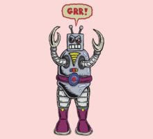 Angry Robot Kids Clothes