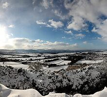 Great Ayton and Tees Valley, Winter Panorama by PaulBradley