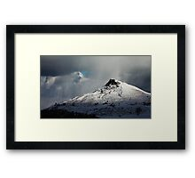 Roseberry Topping (Winter) Framed Print