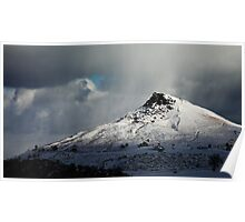 Roseberry Topping (Winter) Poster