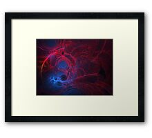 The Thing About Fractals...You Can't Stop! Framed Print