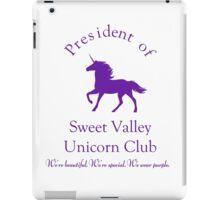 Unicorn Club. iPad Case/Skin