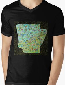 My State Project So Far Mens V-Neck T-Shirt