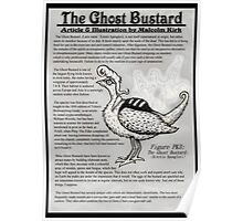 The Ghost Bustard Poster