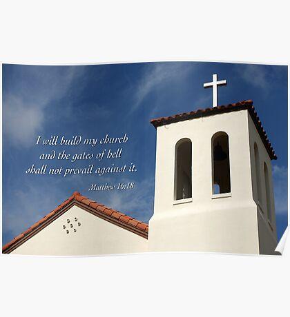 Build My Church Poster