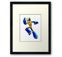 Bad Box Art Megaman Framed Print