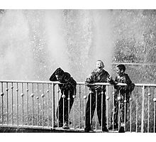 In the fountain1 Photographic Print