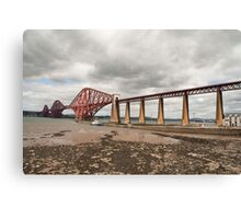 Forth Rail Bridge, South Queensferry Canvas Print
