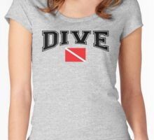 SCUBA Dive Women's Fitted Scoop T-Shirt