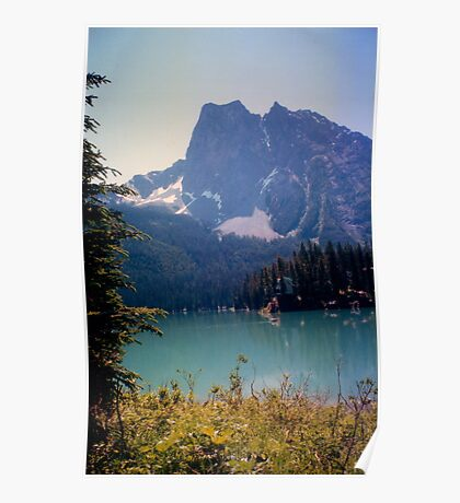 Canadian Lakes Poster