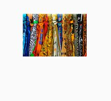 Colourful african scarves Unisex T-Shirt