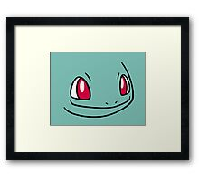 Pokemon - Bulbasaur Framed Print