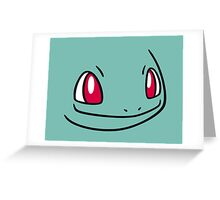 Pokemon - Bulbasaur Greeting Card