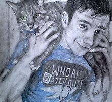 Chris and Brian colfer by NemJames