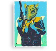 Hotline Miami Richter Canvas Print