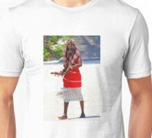 Beach artisan in Mombasa, KENYA Unisex T-Shirt