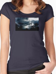 THE ROAD TO HEAVEN Women's Fitted Scoop T-Shirt