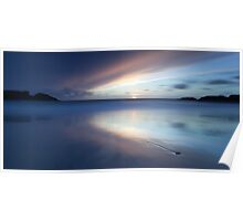 End of Days - Clachtoll Bay Scotland Poster