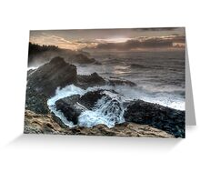 Shore Acres in Winter Greeting Card