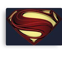 SUPERMAN | MAN OF STEEL CLASSIC Canvas Print