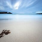Cool Sands - Clachtoll Bay Scotland by toonartist