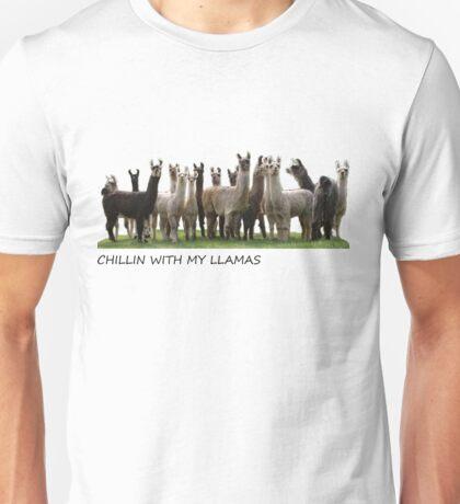 llamas  Unisex T-Shirt