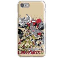 LEGENDS OF THE 80´S iPhone Case/Skin