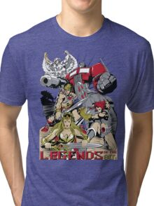 LEGENDS OF THE 80´S Tri-blend T-Shirt