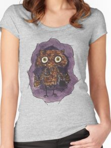 Owlin' Women's Fitted Scoop T-Shirt