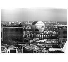 View over Berlin, #2 Poster