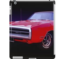 1970 Dodge Charger 500 iPad Case/Skin