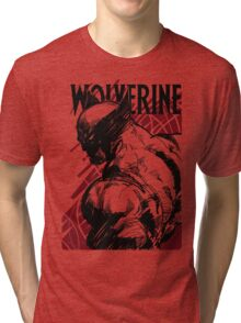 RED LOGAN Tri-blend T-Shirt