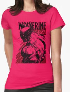 RED LOGAN Womens Fitted T-Shirt