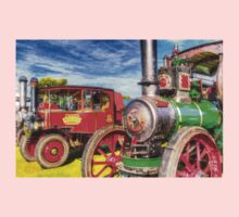 Traction Engine and Steam Lorry Art One Piece - Long Sleeve
