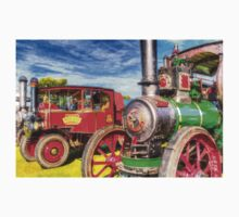 Traction Engine and Steam Lorry Art One Piece - Short Sleeve