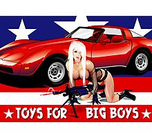 Toys For Big Boys Photographic Print