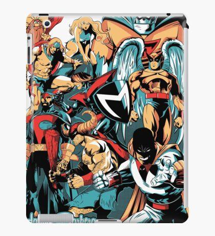 HANNA-BARBERA SUPER HEROES iPad Case/Skin