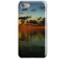 Sunset Ocean Horizon iPhone Case/Skin