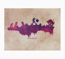 Madrid  purple art One Piece - Long Sleeve