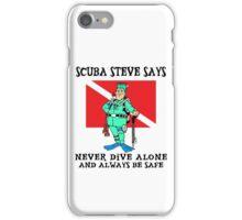 Scuba Steve iPhone Case/Skin