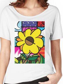 Mom Sunflower Women's Relaxed Fit T-Shirt
