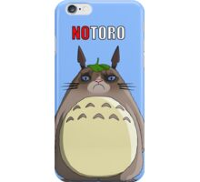 Notoro (with text) iPhone Case/Skin