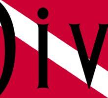 SCUBA Diva Sticker