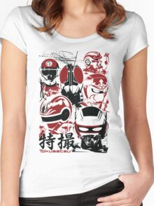 Tokusatsu | Assemble Women's Fitted Scoop T-Shirt