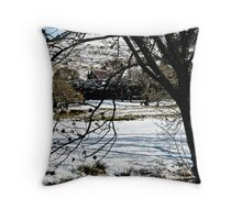 Vision of a Winter's Day  Throw Pillow